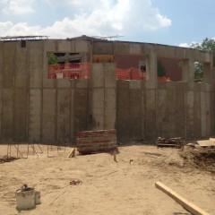 Segmented wall - Area A
